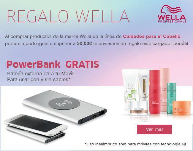 Regalo Powerbank Wella 2021