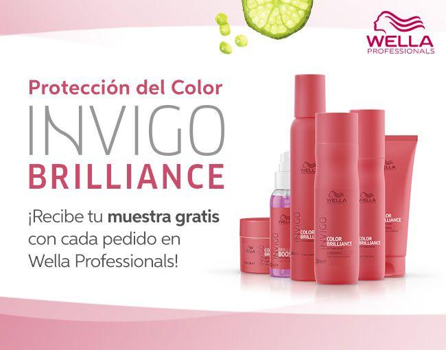 Hidratación y Protección para tu pelo con Color Brilliance